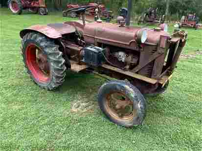 W.F. Hebarb Shop Mule Tractor With Plow A21