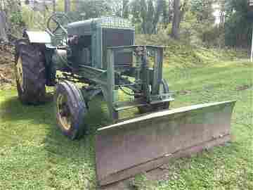 1932-33 John Deere Model GP Antique Tractor