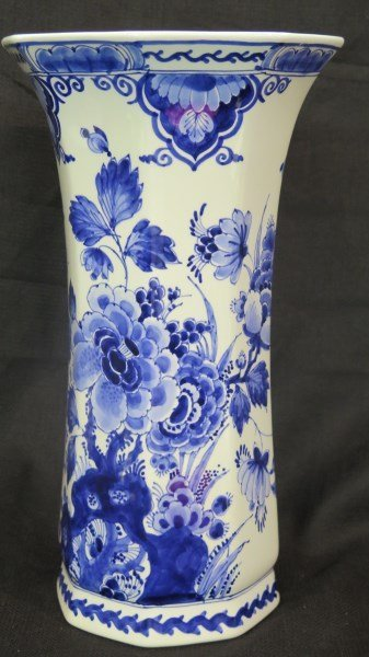 Delft Holland Blue & White Decorative Vase
