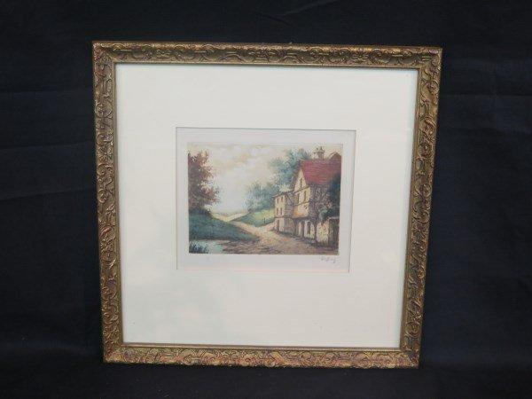 """Rene Ludovic Raffray 1896-1975 """"Untitled (House)"""""""