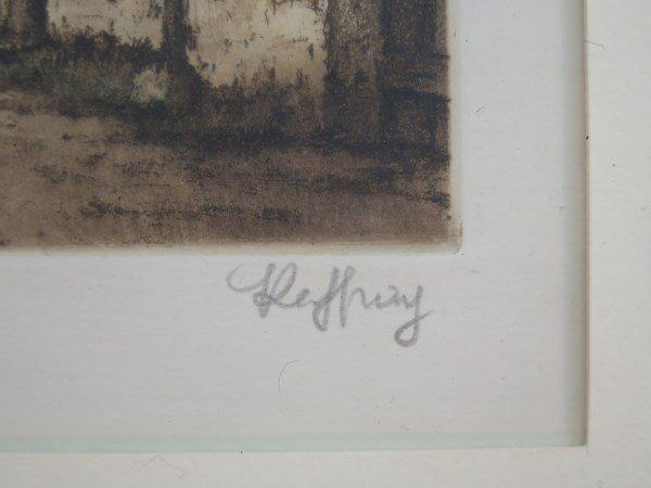 """Rene Ludovic Raffray 1896-1975 """"Untitled (House)"""" - 3"""