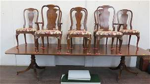 Henredon Mahogany Dining Room Table with 8 Chairs