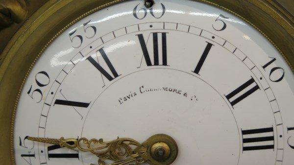 Ad Mougin Deux Medailles Louis XV French Clock - 3