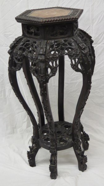 19th Century Chinese Chippendale Table