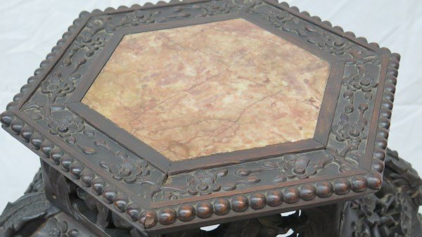 19th Century Chinese Chippendale Table - 6