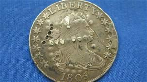 1805 U.S. Draped Bust Half Dollar