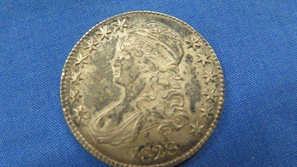 1828 U.S. Bust Half Dollar 50c