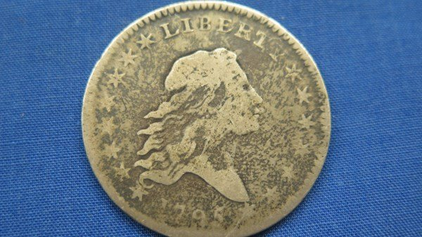 1795 U.S. Flowing Hair Liberty Half Dollar