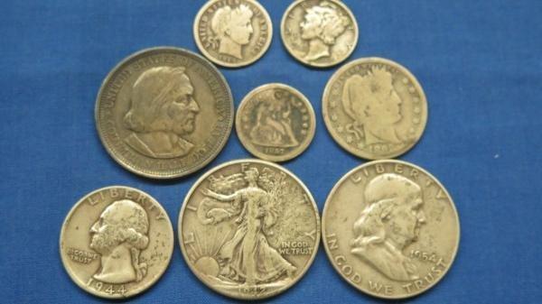 8 Silver U.S. Coins