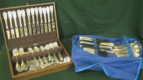 Silver Plated Towle and English Flatware