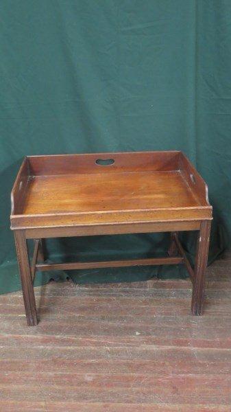 George III Mahogany Butler's Tray c.1775