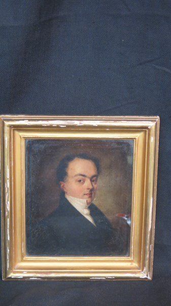 19th Century American Portrait of a Gentleman