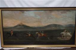 """After James Seymour 1702-1752 """"A Carriage Match"""""""