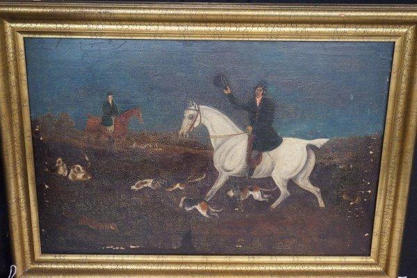 "19th Century British School ""Hunt Scene"""