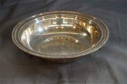 Frank Whiting Sterling Silver Serving Bowl