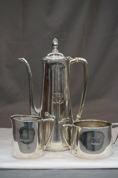 Tiffany & Co. Makers Sterling Silver Tea Set