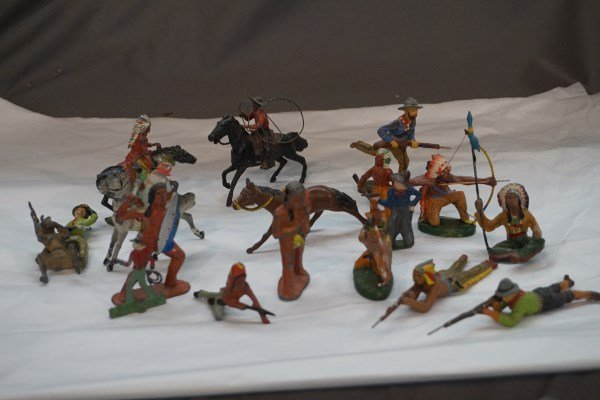 (18) Lead, Iron and Composition, Cowboys Indians