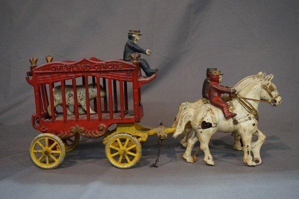 Kenton Overland Circus Horse Drawn Bear Cage Wagon