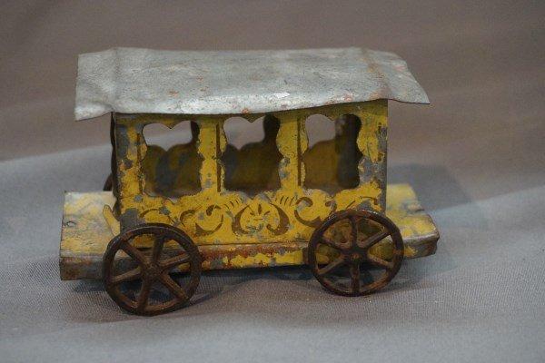 Antique Metal Train Car