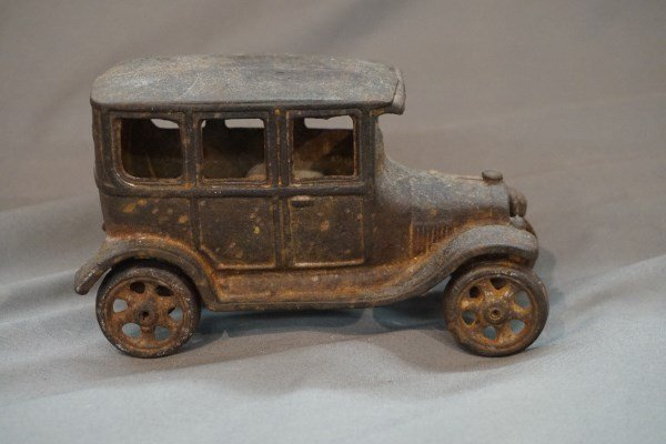 Model T Ford Cast Iron Toy Vehicle