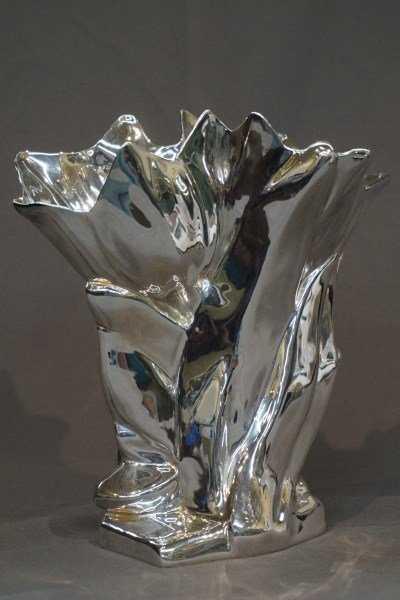 Louis Comfort Tiffany Sterling Silver Tulip Vase