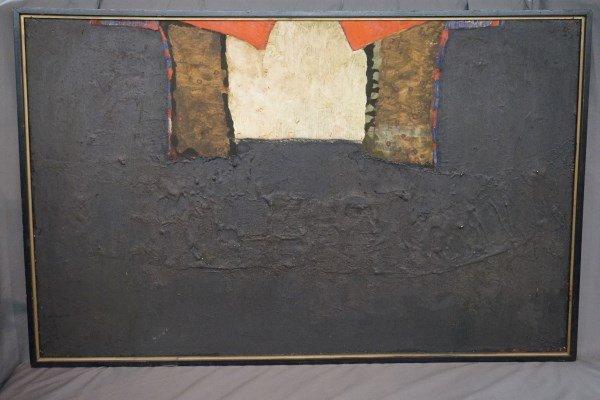 "Paul Rotterdam b.1939   48.5"" X 30"" Dated 1966"