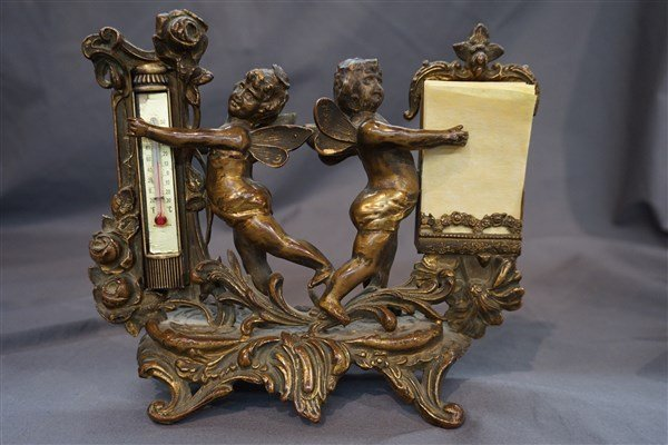 Victorian Cherub Desk Set