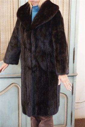 John Wanamaker Full Length Mink Coat