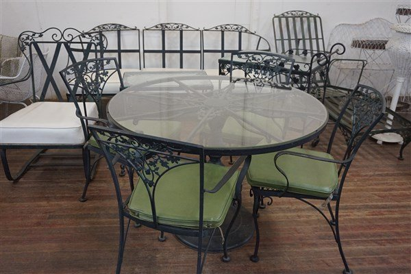 Russell Woodard Wrought Iron Patio Furniture