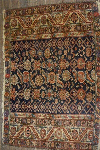 An Antique Shirvan Carpet Section