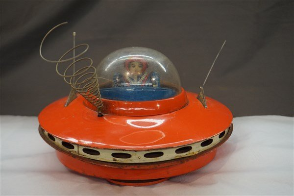 Japan Tin Toy Flying Saucer Space Ship