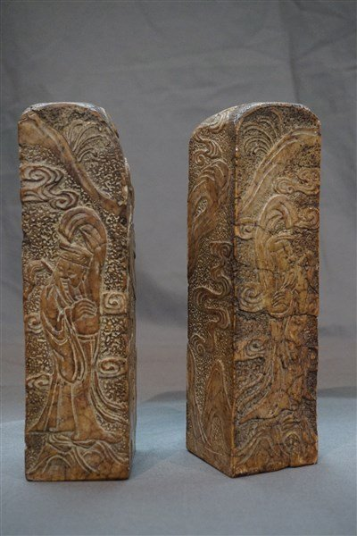 Chinese Soap Stone Carved Seals