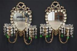 Style Of Maison Bagues French Heart Sconces