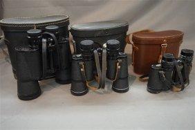 Three (3) Pairs Binoculars