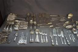 """174 Pc. Whiting """" Duke Of York"""" Sterling Silver Service"""