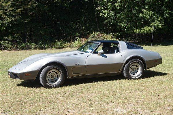 1978 Corvette T-Top 350 V8 89K