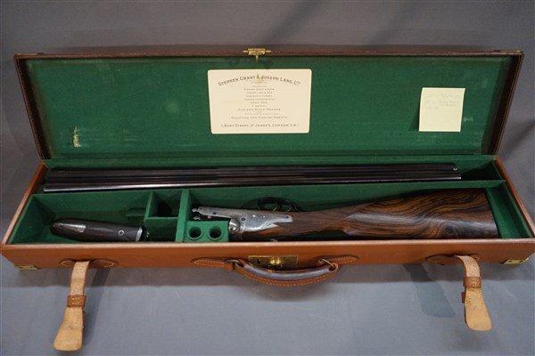 Important Charles Lancaster London  Breachloading  Gun