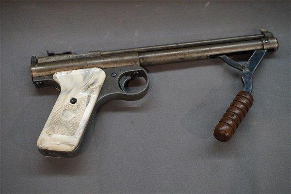 Benjamin Franklin 22 Cal. Pump Action Pellet Gun Pistol