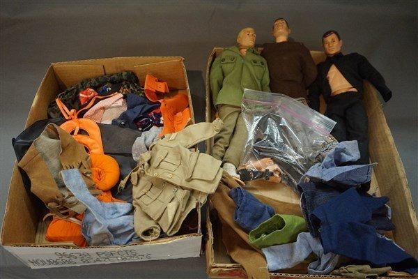 Vintage GI Joe Doll and Clothing Lot