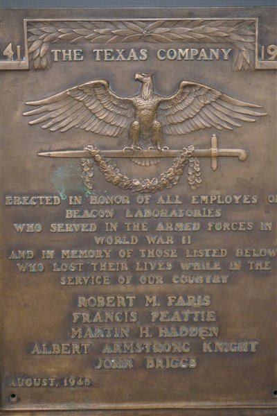 JULIO KILENYI (1885-1959) WWII Bronze Plaque Texaco