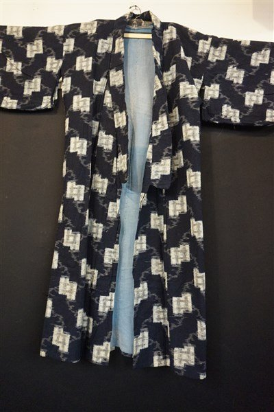 Three (3) Vintage Japanese Kaguri Kimonos - 6