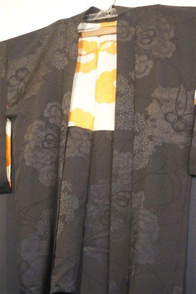 Two (2) Black Japanese Kimono Jackets - 2