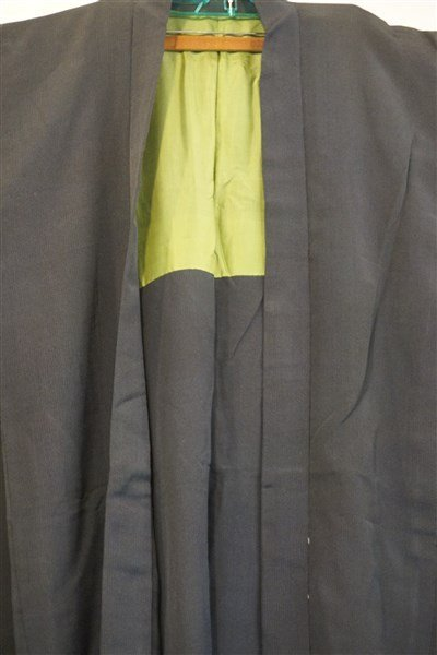 Two (2) Black Japanese Kimono Jackets - 3