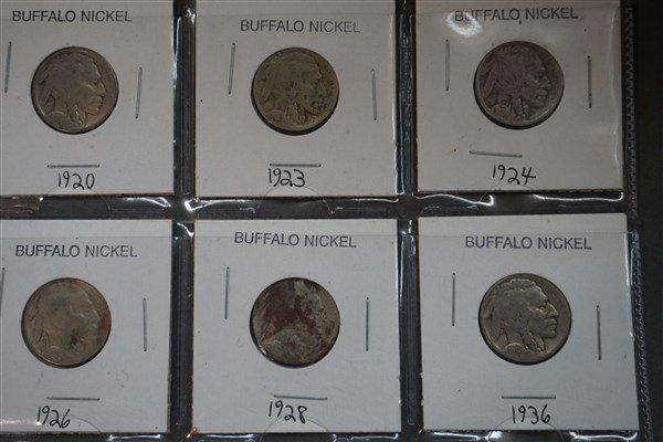 Buffalo and V Nickel Lot - 3