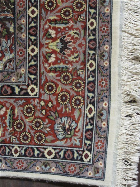"Persian Wool Carpet 88"" X 55 1/2"" - 2"