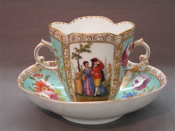 Jean Francois Robert Attrib. French Porcelain