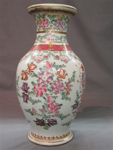 Chinese Floral Vase