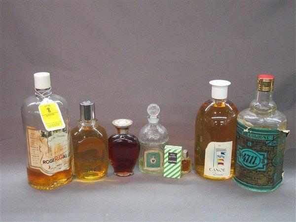 Perfume Bottle Grouping