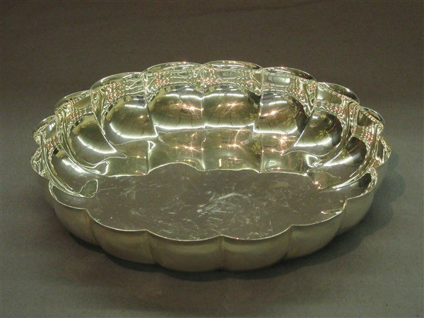 Mexican Sterling Silver Serving Bowl