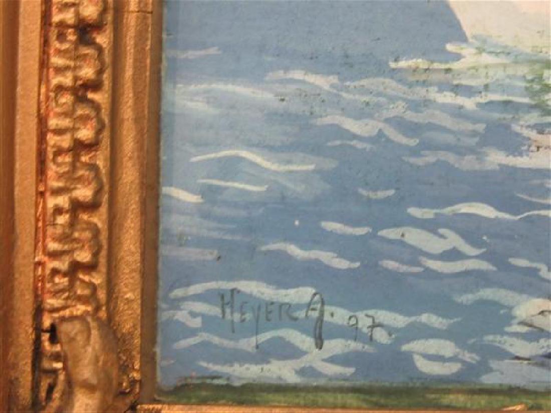 Arthur Heyer (German 1872-1931) Swans - 3